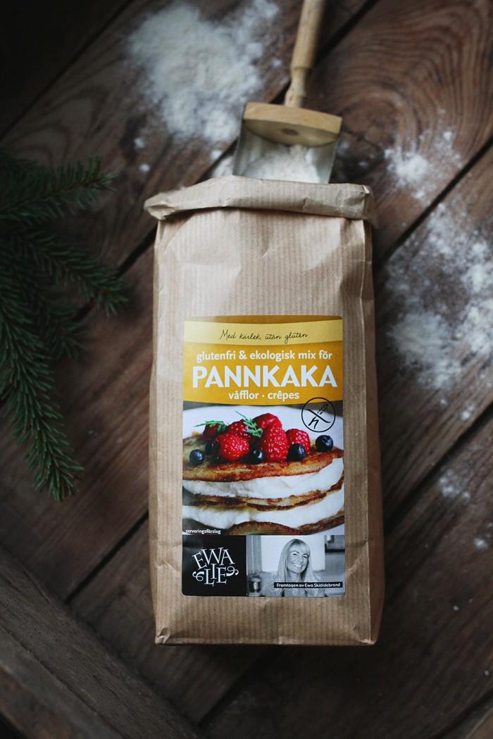 Glutenfri Pannkaksmix Ewalie - Evelinas Ekologiska