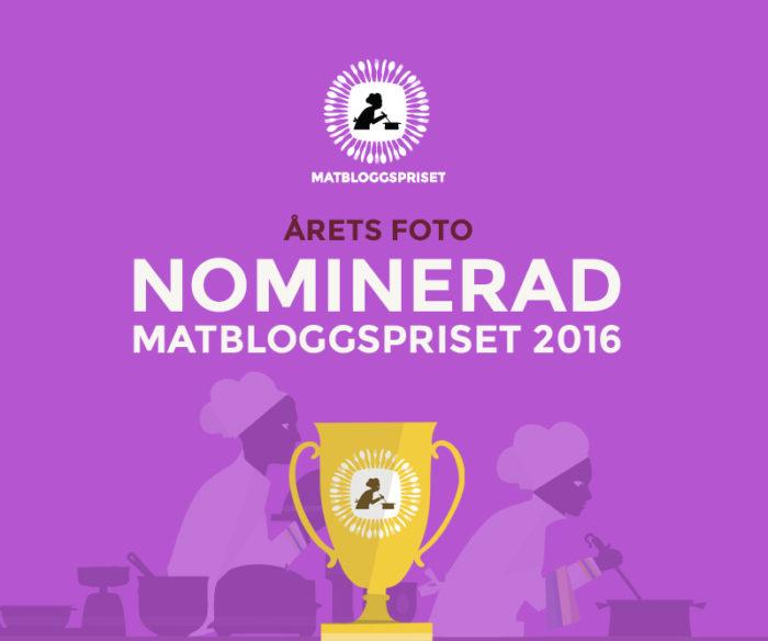 Nominerade Matbloggspriset