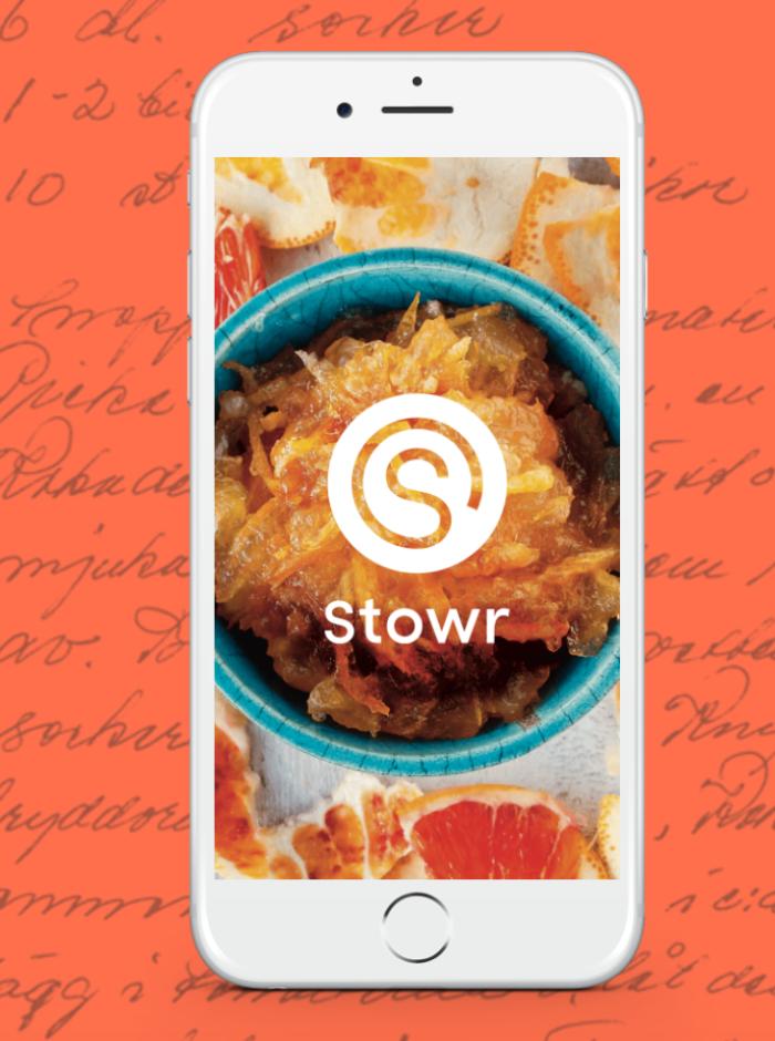 Samla dina recept på ett ställe med Stowr