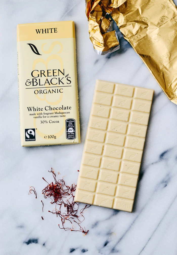 Ekologisk vit choklad