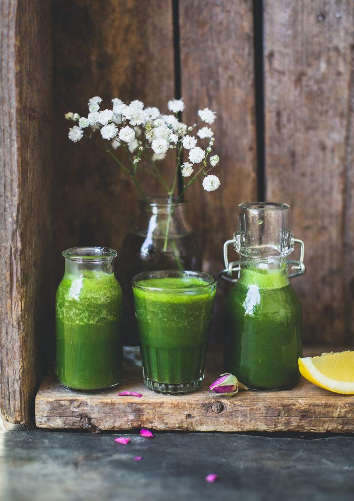 Grön frukostshot - Evelinas Ekologiska